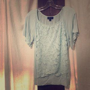 Cute lace front shirt